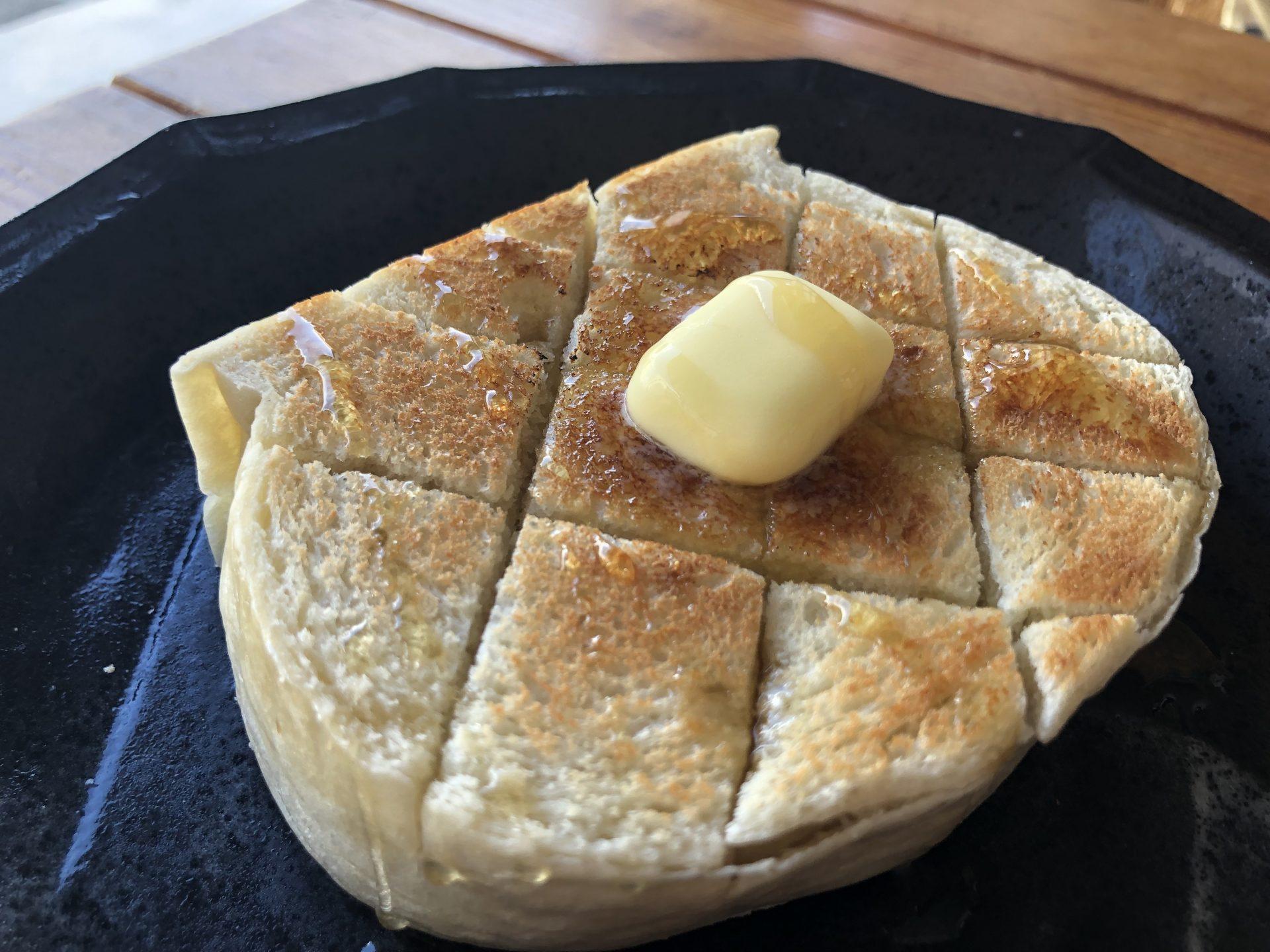 mimiのないパン トースト